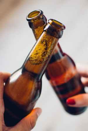 drink beer cheers toast